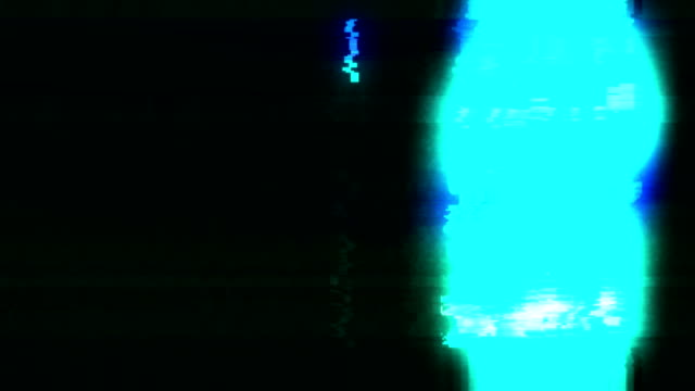 analog tv vhs noise glitches overlay - neon stock videos & royalty-free footage