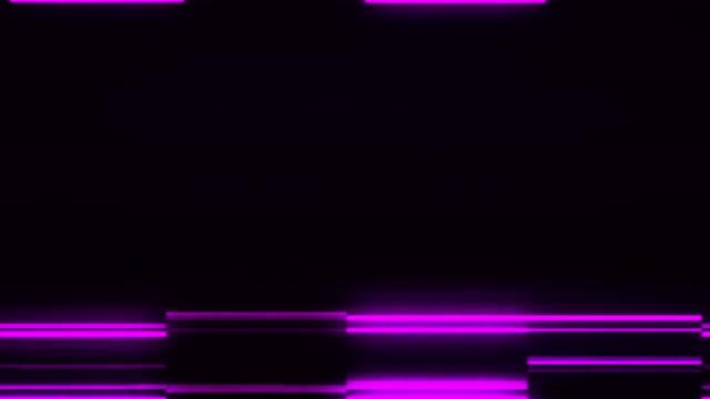 analog tv vhs noise-störungen overlay - gepixelt stock-videos und b-roll-filmmaterial