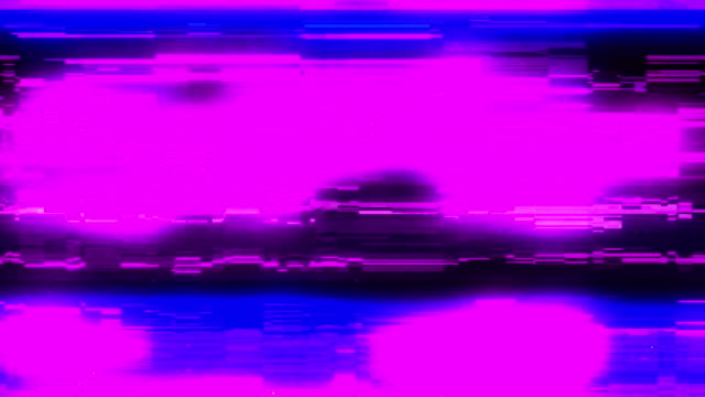 analog tv vhs noise glitches overlay - glitch technique stock videos & royalty-free footage