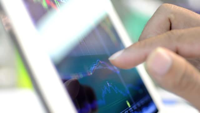 analyzing market data.