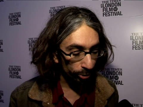 anand tucker on casting claire danes at the the times bfi 49th london film festival - shopgirl premiere on october 28, 2005. - tucker stock videos & royalty-free footage