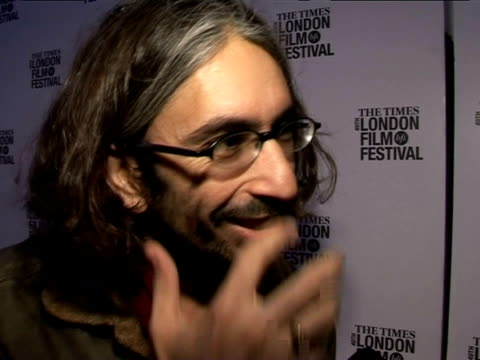 anand tucker on the london film festival at the the times bfi 49th london film festival - shopgirl premiere on october 28, 2005. - tucker stock videos & royalty-free footage