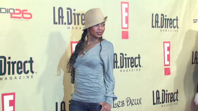 Ananda Lewis at the LA Direct Magazine's Holiday Party at Les Deux in Los Angeles California on December 14 2007