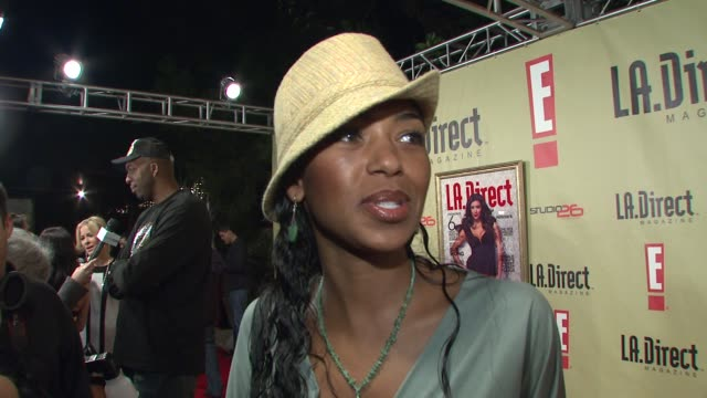 Ananda Lewis on attending tonight's event on her favorite holiday traditions and on what she's up to in 2008 at the LA Direct Magazine's Holiday...