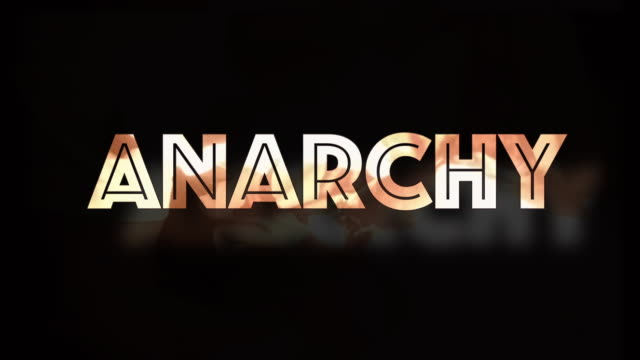 anarchy 3d shaking fire text computer graphic - shaking stock videos & royalty-free footage