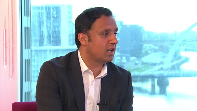 """anas sarwar saying labour made """"immense progress"""" in the scottish elections - progress stock videos & royalty-free footage"""