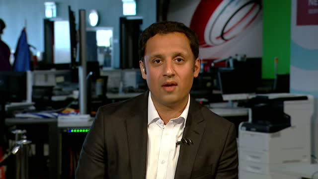 anas sarwar saying the next five years should be focused on recovery from covid rather than scottish independence - focus concept stock videos & royalty-free footage