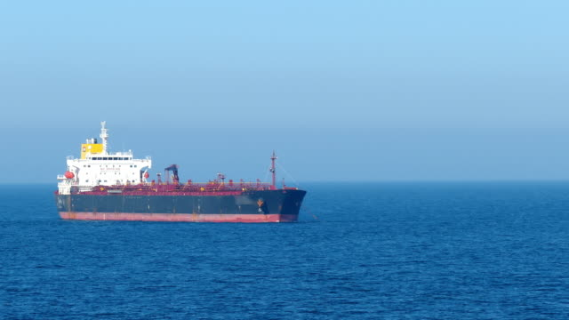 anchored tanker - anchored stock videos & royalty-free footage