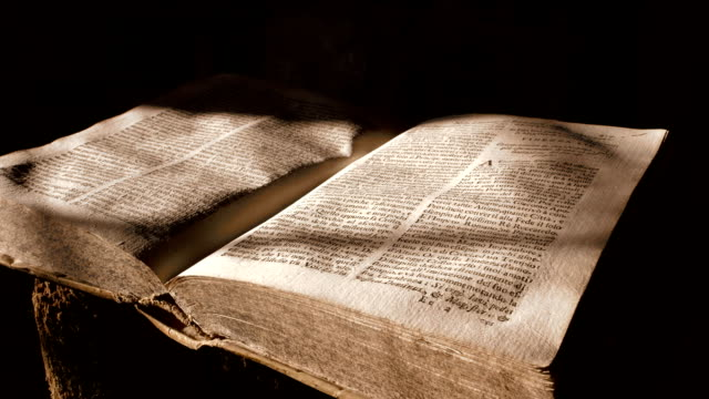 ancient book - bible stock videos & royalty-free footage