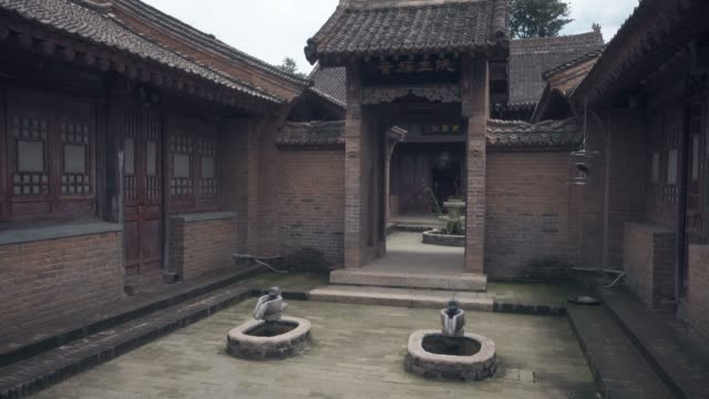 stockvideo's en b-roll-footage met ancient chinese traditional architecture,xi'an,china. - traditie