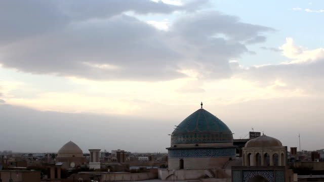 ancient city of yazd, iran - iran stock videos and b-roll footage