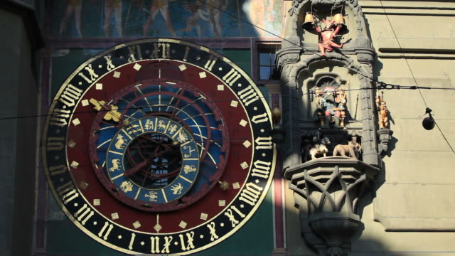 Ancient Clock tower in Bern