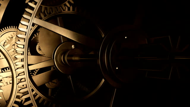 ancient clock - manufacturing machinery stock videos & royalty-free footage