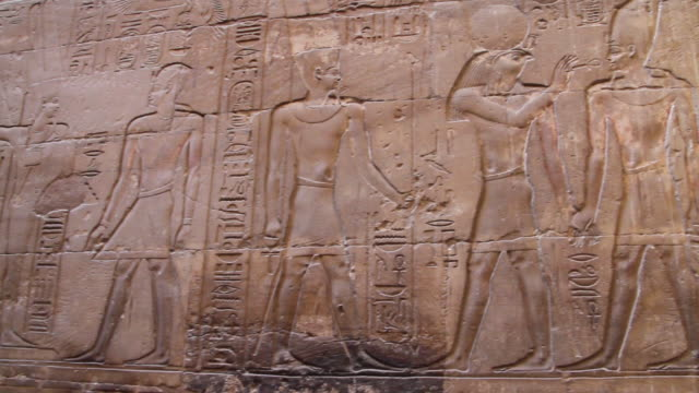 ancient egyptian hieroglyphics, pan - egyptian culture stock videos & royalty-free footage