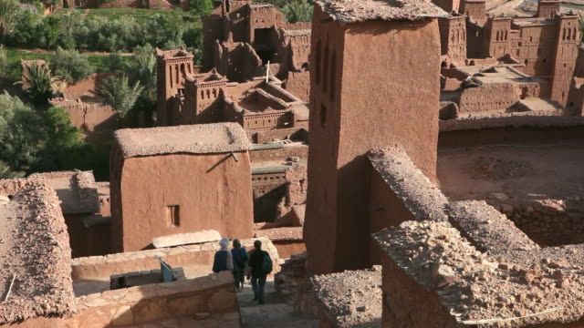 Ancient fortress. Ait-Ben-Haddou, Morocco