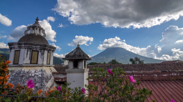 ancient guatemala - guatemala stock videos & royalty-free footage