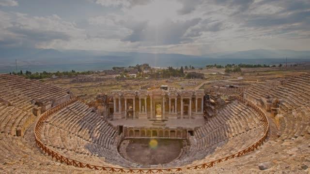 Ancient Hierapolis, Pamukkale, Denizli, Turkey