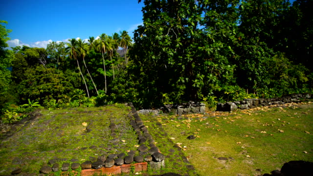 ancient historical remains remote village atuona hiva oa - remote location bildbanksvideor och videomaterial från bakom kulisserna