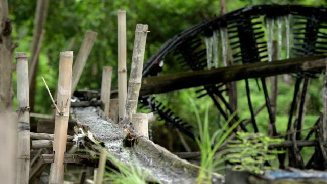 ancient hydro turbine generator - watermill stock videos and b-roll footage