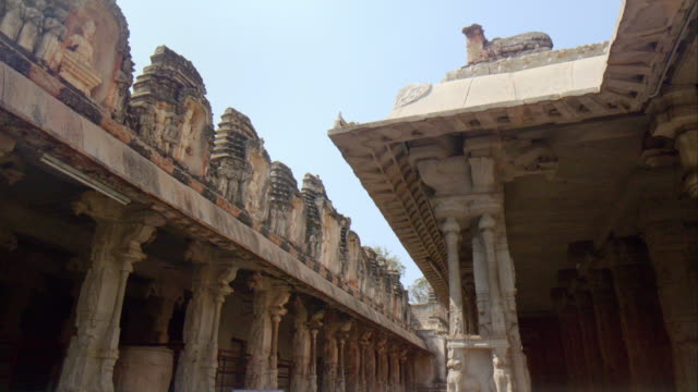 Ancient Indian Temple at Hampi, Unesco World Heritage