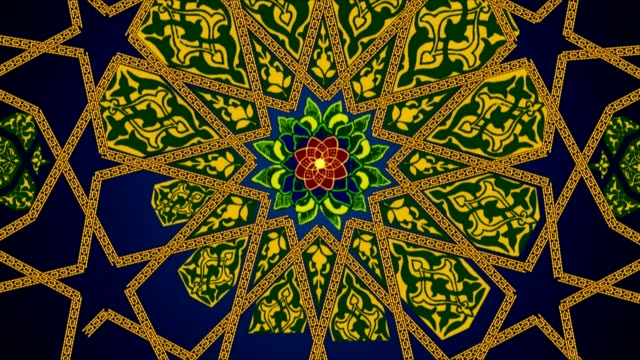 ancient islamic patterns - islam stock videos & royalty-free footage