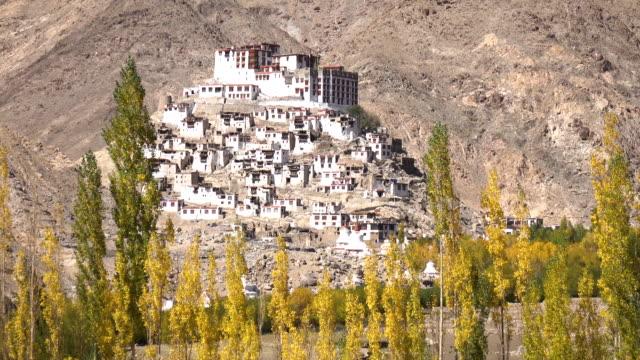 Ancient Monastery at Leh Ladakh, Northern India