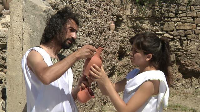 vidéos et rushes de ancienne agora - antique