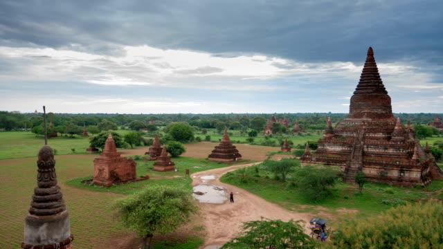 Ancient pagodas in Bagan Mandalay, Myanmar