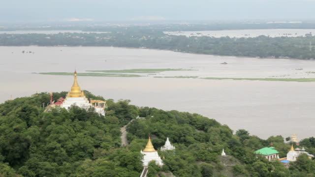 Ancient pagodas in Mandalay city, Myanmar