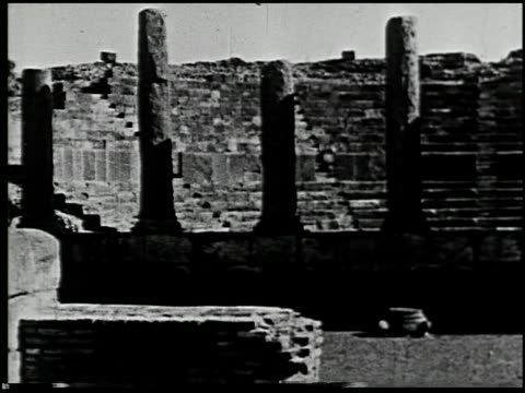 ancient rome in africa - 3 of 12 - karthago stock-videos und b-roll-filmmaterial