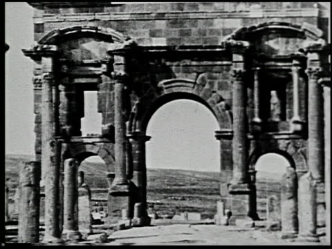 ancient rome in africa - 4 of 12 - karthago stock-videos und b-roll-filmmaterial