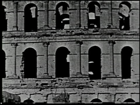 ancient rome in africa - 7 of 12 - karthago stock-videos und b-roll-filmmaterial