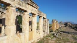 Ancient ruins of Hierapolis Pamukkale