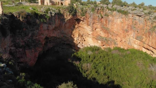 vidéos et rushes de ruines antiques de la ville de neapolis, mersin, turquie - archéologie