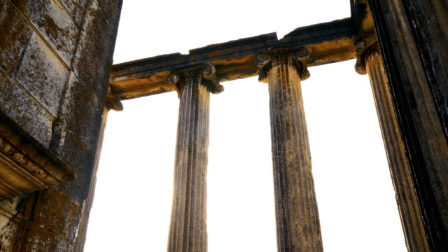 ancient temple aizanoi - parthenon athens stock videos and b-roll footage