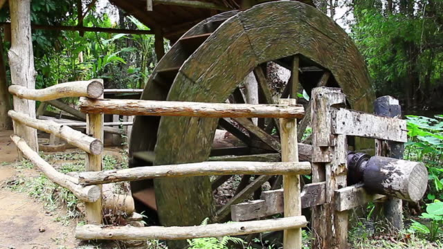 ancient waterwheel - water wheel stock videos and b-roll footage