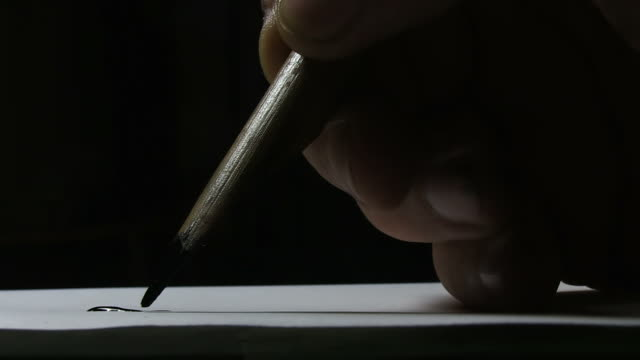 ancient writing - correspondence stock videos & royalty-free footage