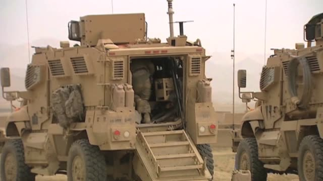 us and afghan troops in afghanistan - 2001年~ アフガニスタン紛争点の映像素材/bロール