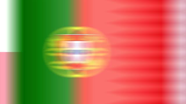 英国すべての加盟国の united_nations(ループ) - スペイン国旗点の映像素材/bロール
