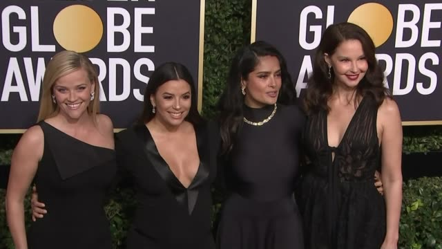 stockvideo's en b-roll-footage met bfi and bafta publish guidelines to combat harassment and bullying in the film industry lib / t08011804 california beverly hills 75th golden globe... - golden globe awards