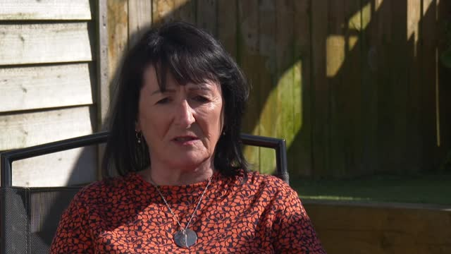 and british troops to withdraw from afghanistan; scotland: ext jane duffy interview sot - war and conflict stock-videos und b-roll-filmmaterial