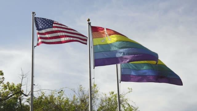 GUSA and gay rainbow flag
