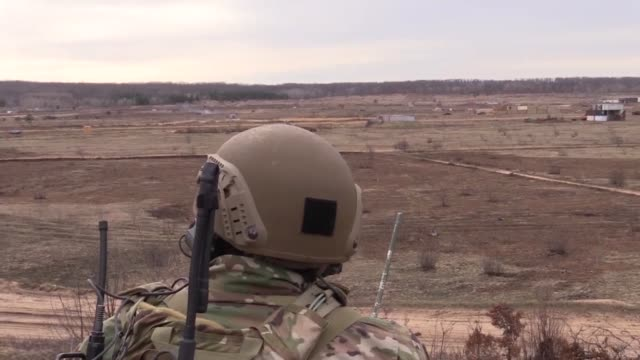 US and German JTAC Airmen work together for Close Air Support training Exercises like this further the interoperability of coalition forces and...