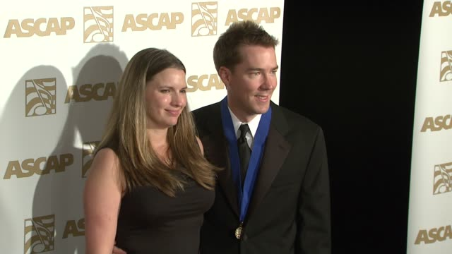vidéos et rushes de and guest at the ascap film and tv music awards at the kodak theatre in hollywood, california on april 17, 2007. - ascap