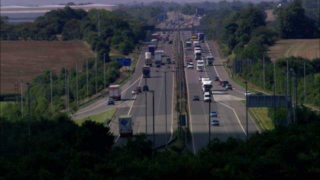M1 And M6 Junction  - Aerial View - England, Leicestershire, Harborough District, United Kingdom