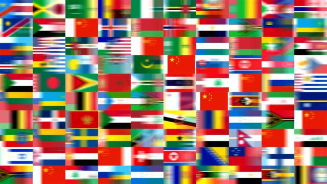 複数の中国、メンバー諸国国際連合(ループ) - 独立宣言点の映像素材/bロール