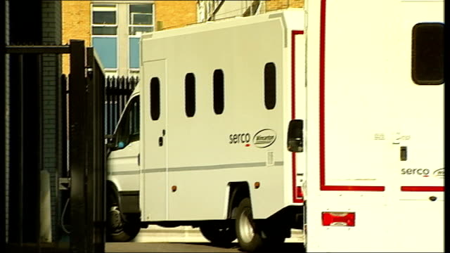 allegations of overcharging and incompetence in tagging operations location unknown ext serco prison vans serco van - ineptitude stock videos & royalty-free footage