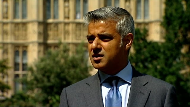 g4s and serco face fraud charges over tagging overcharging westminster ext sadiq khan mp interview sot sfo and the police should be asked to... - sadiq khan stock videos & royalty-free footage