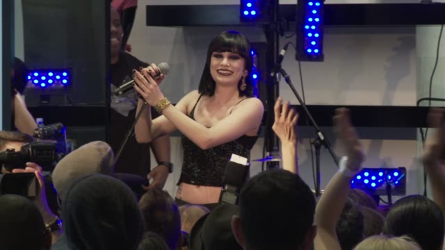 guess and vanity fair celebrate the grand opening of the new 5th avenue flagship store with live performance by jessie j new york ny united states - store opening stock videos & royalty-free footage