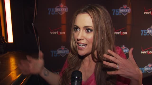 NFL and Verizon Celebrate the 2010 NFL Draft New York NY United States